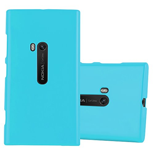 Nokia Lumia 920 - Hülle in Jelly HELL BLAU - Handyhülle aus TPU Silikon im Jelly Design - Silikonhülle Schutzhülle Ultra Slim Soft Back Cover Case Bumper ()