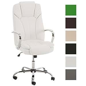 clp xxl fauteuil de bureau xanthos rev tement en simili cuir fauteuil de chef pivotant bien. Black Bedroom Furniture Sets. Home Design Ideas
