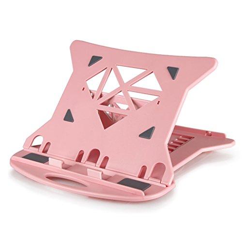 William 337 Einstellbarer Faltbarer Laptop-Ständer, Schwarzer Tischtisch Portable Mehrfachwinkel-Standplatz-Monitor-Standplatz ( Farbe :...