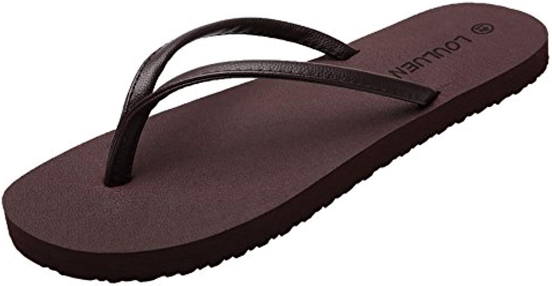 GSHE Shoes Unisex Paar Flip Flops EVA Soft Bottom Leichte Indoor Und Outdoor Sommer Sandalen Klassische Hausschuhe
