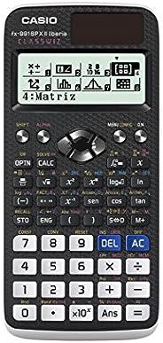 Casio FX-991SPX II - Calculadora científica, Recomendada para el curriculum español y portugués, 576 funciones