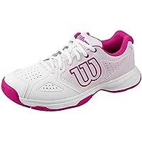 Wilson KAOS STROKE W, Zapatillas tenis mujer, todos los niveles y terrenos, , tejido/sintético, blanco/rosa