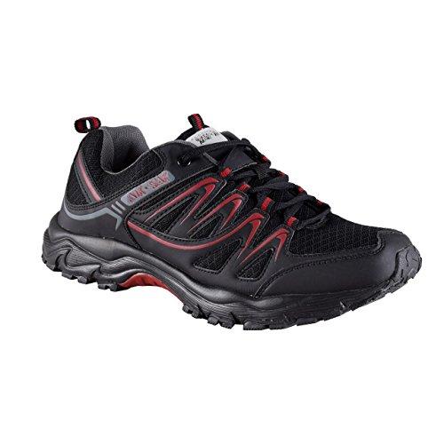en Sneaker | Freizeit Arbeit Sportschuhe | Leichtlauf Trekkingschuhe | BA20145 (45) (Vans-jungen-sale)
