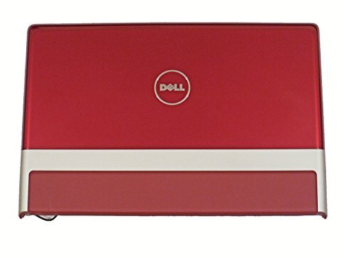 New Dell XPS PP35L Cover Lid Red With Leather Stripe