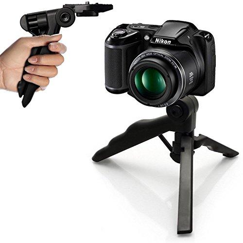 Carbon-Faser-Kamera-Schienen-Dolly Slider-Rail-System mit 17.5lbs / 8kg Ladekapazität für Stabilisierende Film-Film-Video Making Fotografie DSLR Kamera wie Nikon Canon Sony Pistol Grip Stabilizer