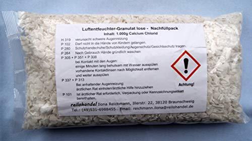 10x 1kg l o s e Luftentfeuchter Granulat Flakes - für Raumentfeuchter Luftentfeuchter Nachfüllpack
