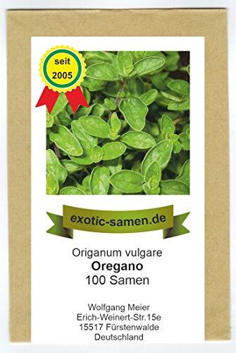 Oregano - Oreganum vulgare (100 Samen)