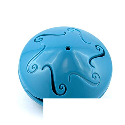 Juguete gato dispensador de croqueta azul my-animalerie