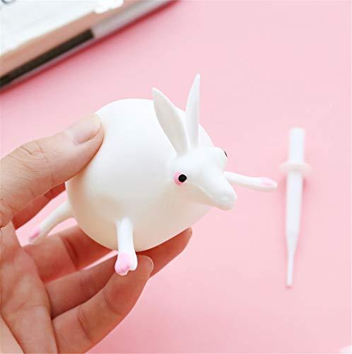 Spielzeuge,TPR Schlag Tierwellen-Ball-Spannungsabbau spielt aufblasbaren Gummiball Spielzeuge Geeignet für Home Office (D) ()