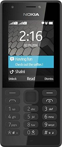 Microsoft Nokia 216 A00027879 Cellulare, 16 MB, Nero [EU], dual SIM