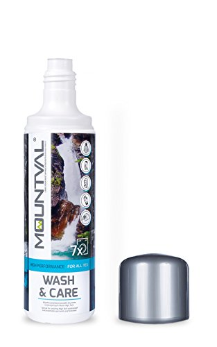 418teeBKA0L - Mountval Wash & Care, performance wash-in cleaner for technical and wet weather clothing and equipment with climatic…