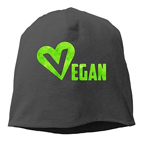 Preisvergleich Produktbild MLNHY Vegan Heart Winter Beanie Skull Cap Warm Knit Ski Slouchy Hat Durable