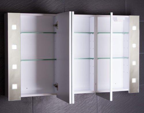 Spiegelschrank Cube 120 cm von Galdem Cube120 - 2