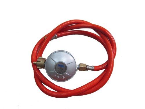 Maxxus Druckminderer mit Gasschlauch 50 mbar / 80 cm - Schlauch-Regler-Set für Gasgrills u. Gaskocher