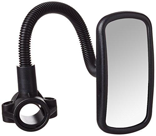 hr-imotion Fahrradspiegel mit Verstellbarem Schwanenhals und konvexem Glas für Eine Weitere Übersicht und erhöhte Sicherheit [Made in Germany | Schnelle Montage] - 10411101