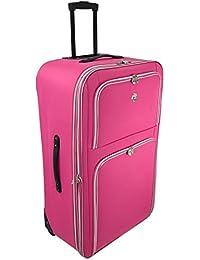 Amazon.co.uk: Pink - Suitcases & Travel Bags: Luggage