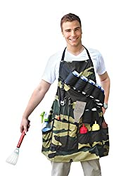 Bigmouth Inc The Grill Sergeant Bbq Apron