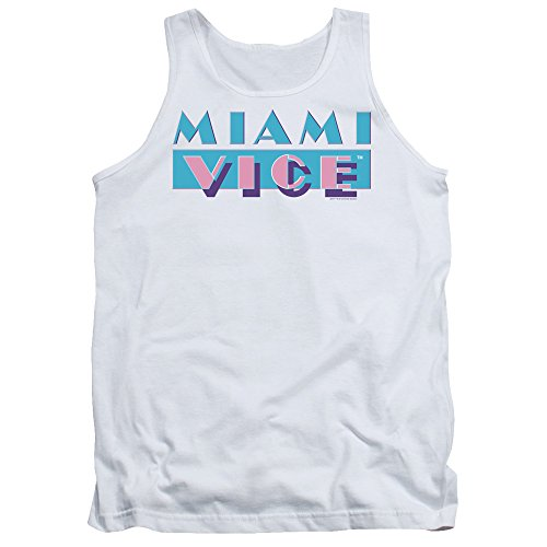 Miami Vice 80s Logo Mens Tank Vest Top