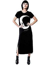 McGoth Knit Killstar Goth Gothic Punk Minikleid Strickkleid Fledermaus Kleid