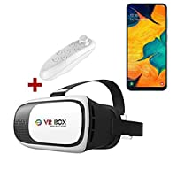 Samsung Galaxy A30 VR BOX 3D Sanal Gerçeklik Gözlüğü Kumandalı