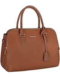 77c8f5194 David Jones - Bolso de Mano Bugatti para Mujer - Shopper Tote Bag - Cuero  Genuino
