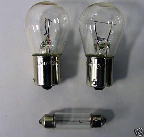 Preisvergleich Produktbild WAMO Glühlampen Set für Dreikammerleuchte 3-teilig BA15s S8, 5
