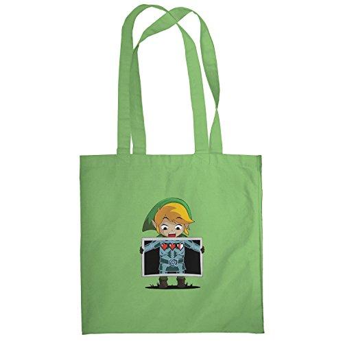 Texlab–X Ray Link–sacchetto di stoffa Verde chiaro