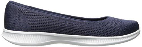 Di Le Stardust Tela Passo Navy Piedi Andare Skechers Donne Scarpe A Lite Blu aU0qxwtZ