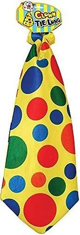 Clown Long Tie - Accessory
