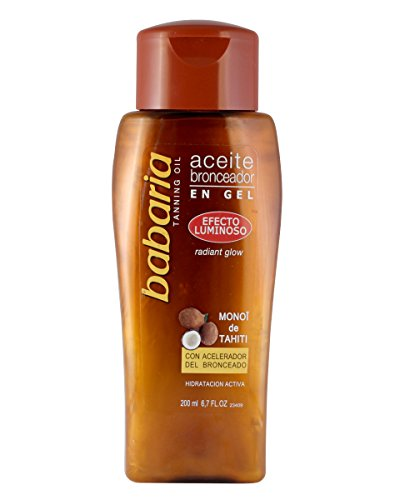 Babaria aceite bronz luminoso olio abbronzante - 200 ml