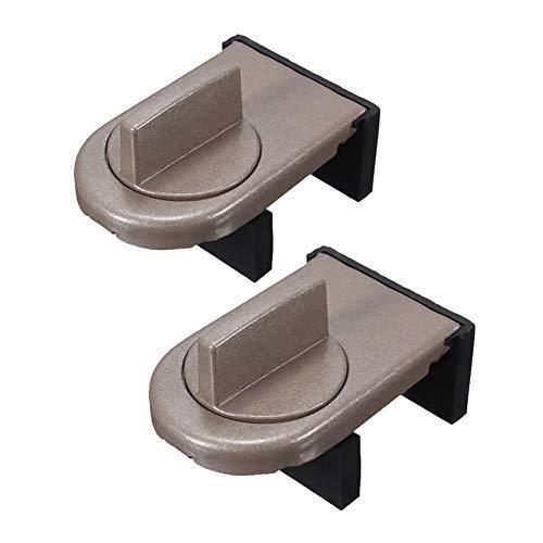 2pcs deslizante Sash tapón armario Locks correas puertas cerradura