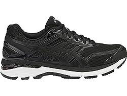 Asics Mens Black, Onyx and White Running Shoes - 11 UK/India (46.5 EU)(12 US)