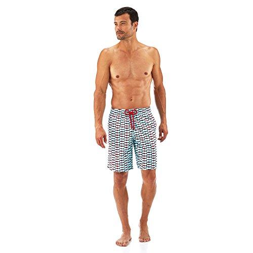 vilebrequin maillot de bain long fish net homme les. Black Bedroom Furniture Sets. Home Design Ideas