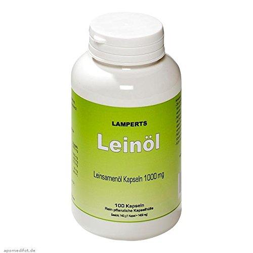 LEINÖL 1000 mg Lamperts Kapseln 100 St Kapseln