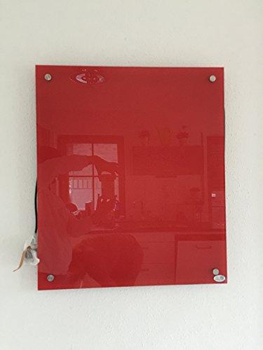 Verre à distance infrarouge 300 w rouge 60 x 50 cm avec système de fixation inclus, garantie 5 ans