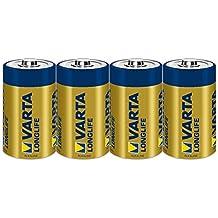Varta 4120101412 - Batterie-SET 2x 2er-Packung LR20 Mono D Longlife