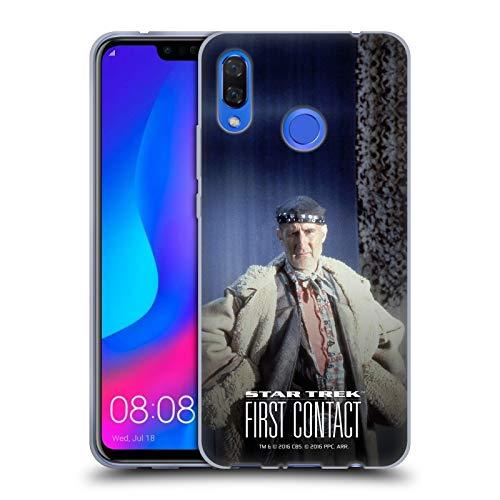 Head Case Designs Offizielle Star Trek Volles Kostüm Zefram Cochrane Der Erste Kontakt TNG Soft Gel Hülle für Huawei Nova ()
