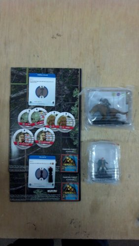 The Lord of the Rings: The Two Towers HeroClix Organized Play Kit OP Game Night