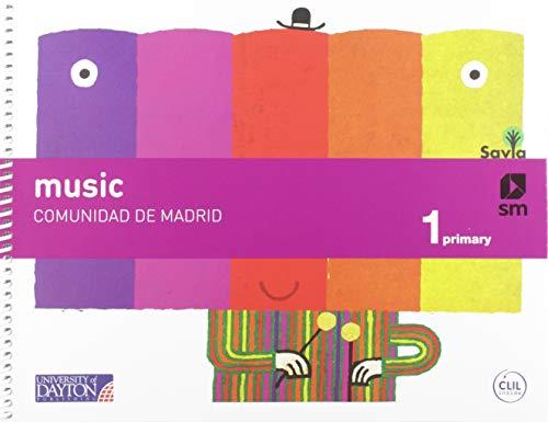 Music. 1 Primaria. Savia (Madrid)