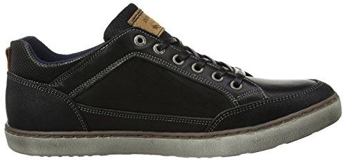 Dockers by Gerli 41la002-402100, Sneakers Basses Homme Noir (Schwarz)