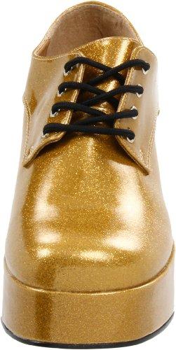 PleaserJazz02/b - Brogue uomo Oro (Gold)