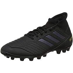 adidas Predator 19.3 AG, Zapatillas de Fútbol para Hombre, Negro (Core Black/Core Black/Gold Metallic 0), 43 1/3 EU