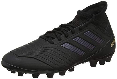 adidas Predator 19.3 AG, Zapatillas de Fútbol para Hombre, Negro Core Black/Gold Metallic 0, 42 EU