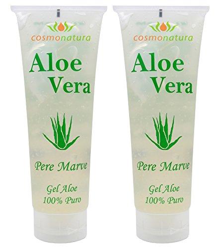 Natura Canaria Aloe Vera Gel 100% Tube 250ml x 2 Stück