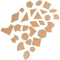 SUPVOX Multi patrón de Acolchado Transparente Plantillas de acrílico Conjunto de Dibujo Manual Plantilla Patchwork Spinning Bordado Modelo DIY Herramienta de Costura 54 unids