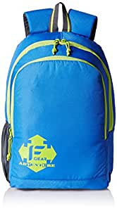 F Gear Castle BG 20 Ltrs Blue Casual Backpack (2061)