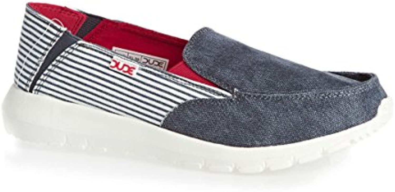 Dude Shoes onB01CEQ01CYParent Femme's Ava Marine Stripe Slip onB01CEQ01CYParent Shoes 64d5b3