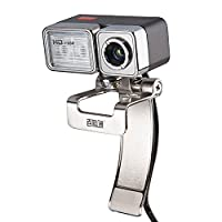 Lychee 720P HD Webcam USB Web Camera with Built-in Microphone