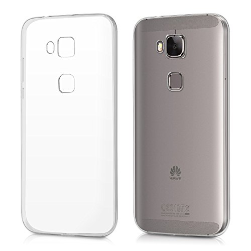 kwmobile Hülle für Huawei G8 / GX8 - Ultra Slim Case Handy Schutzhülle TPU Silikon - Backcover Cover Transparent