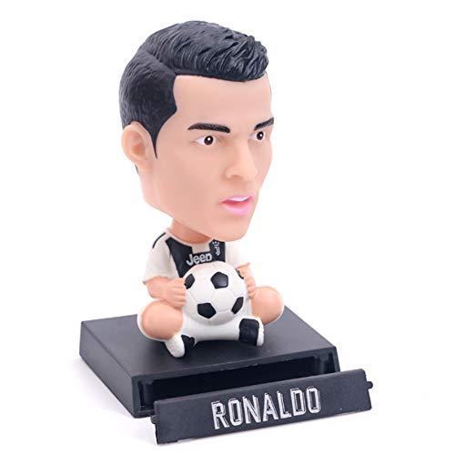 Enjoyfeel World Cup Fans Geschenk Taschenformat Statue, Auto Dekoration (Ronaldo) -